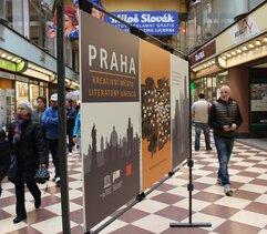 Exhibition in Lucerna